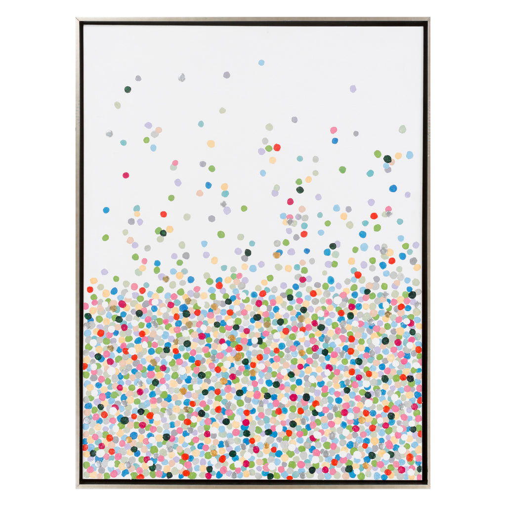 Confetti Framed Wall Art