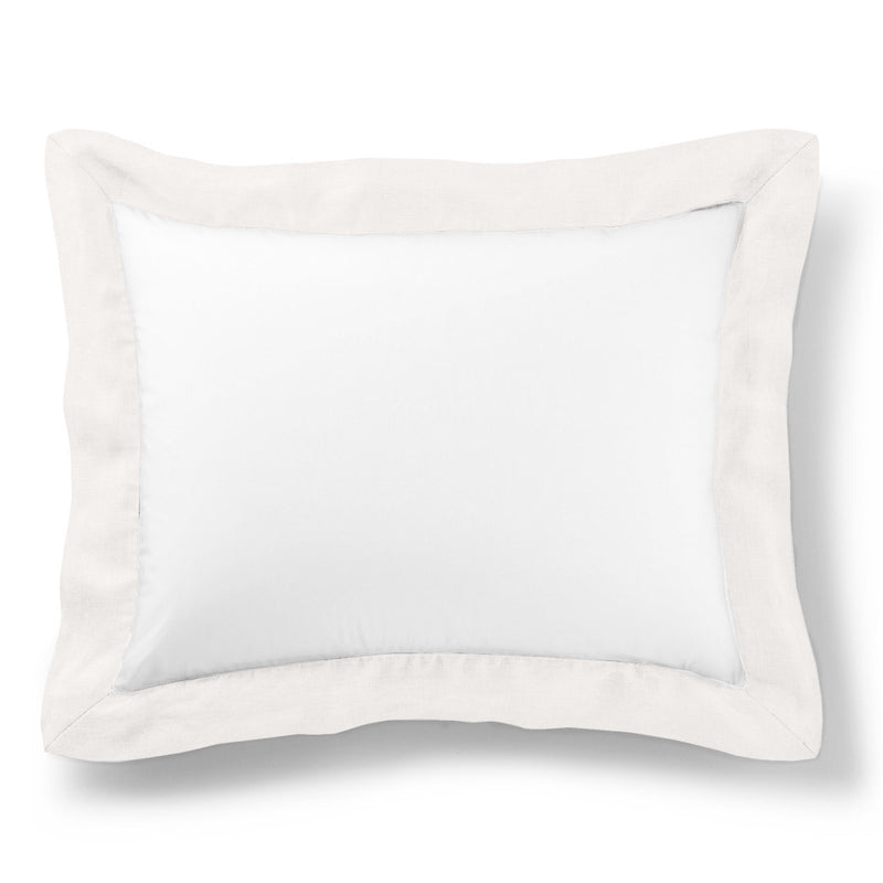 Peacock Alley Mandalay Linen Cuff Pillow Sham