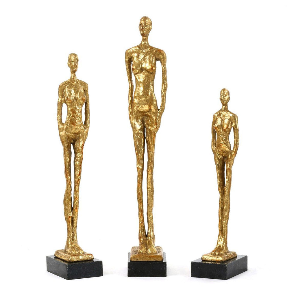 Bungalow 5 Miles Statue Set of 3