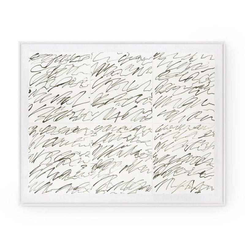 Bungalow 5 Notes Silk Framed Wall Panel