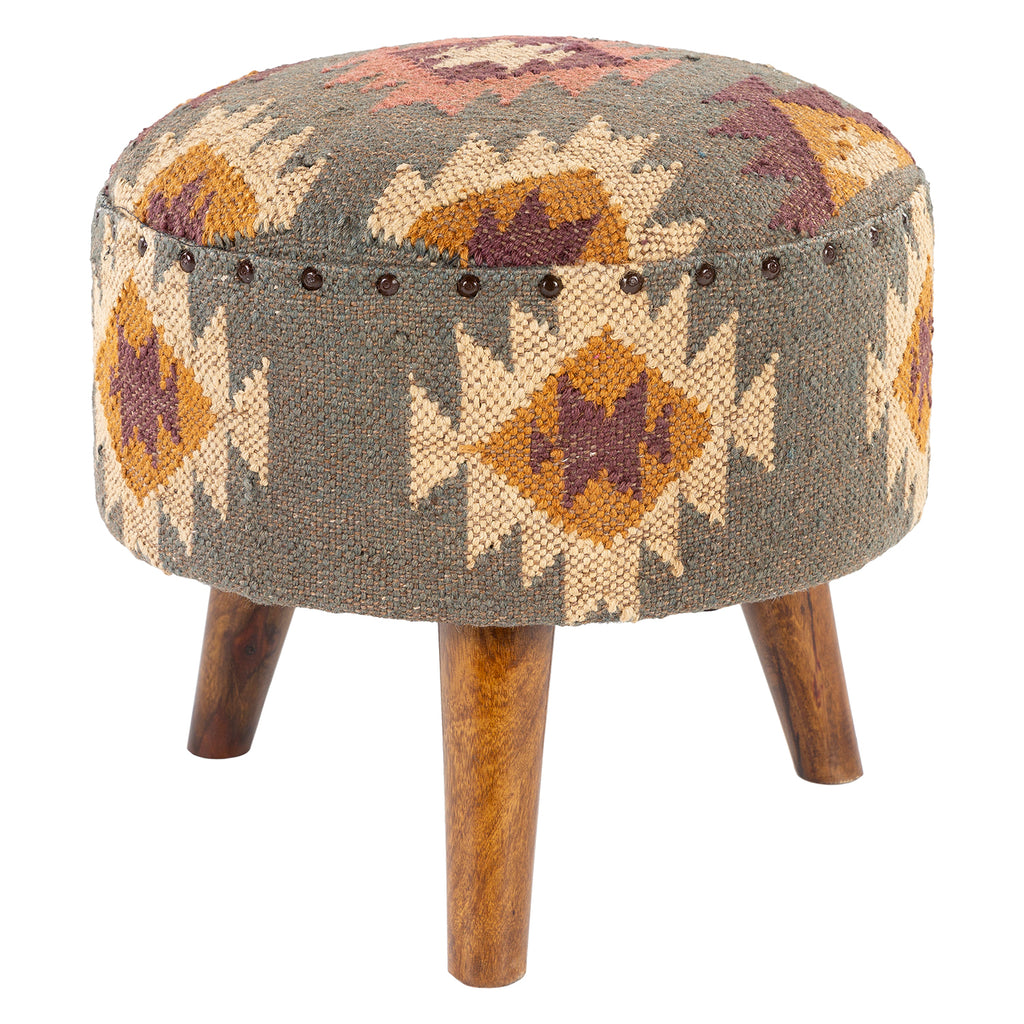Latham Upholstered Stool