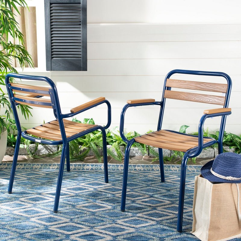 Rebecca Stackable Outdoor Chair Set of 2