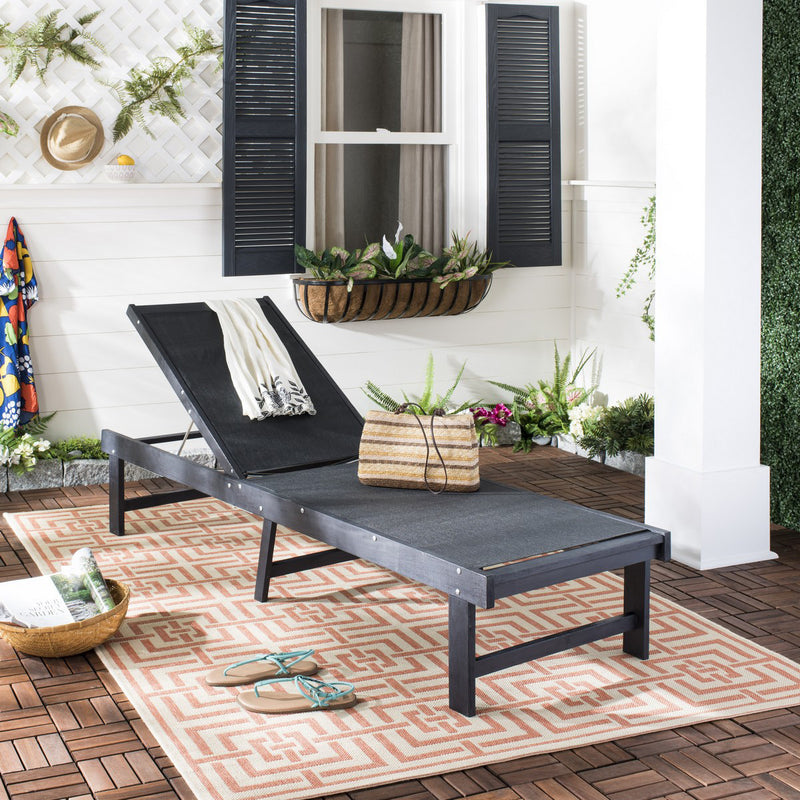 Fiona Outdoor Chaise Lounge