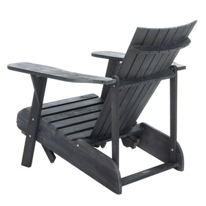 Paisley Retractable Footrest Outdoor Adirondack Chair