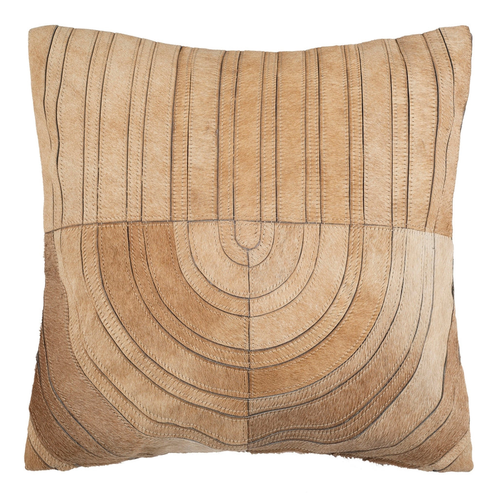 Hebden Cowhide Throw Pillow