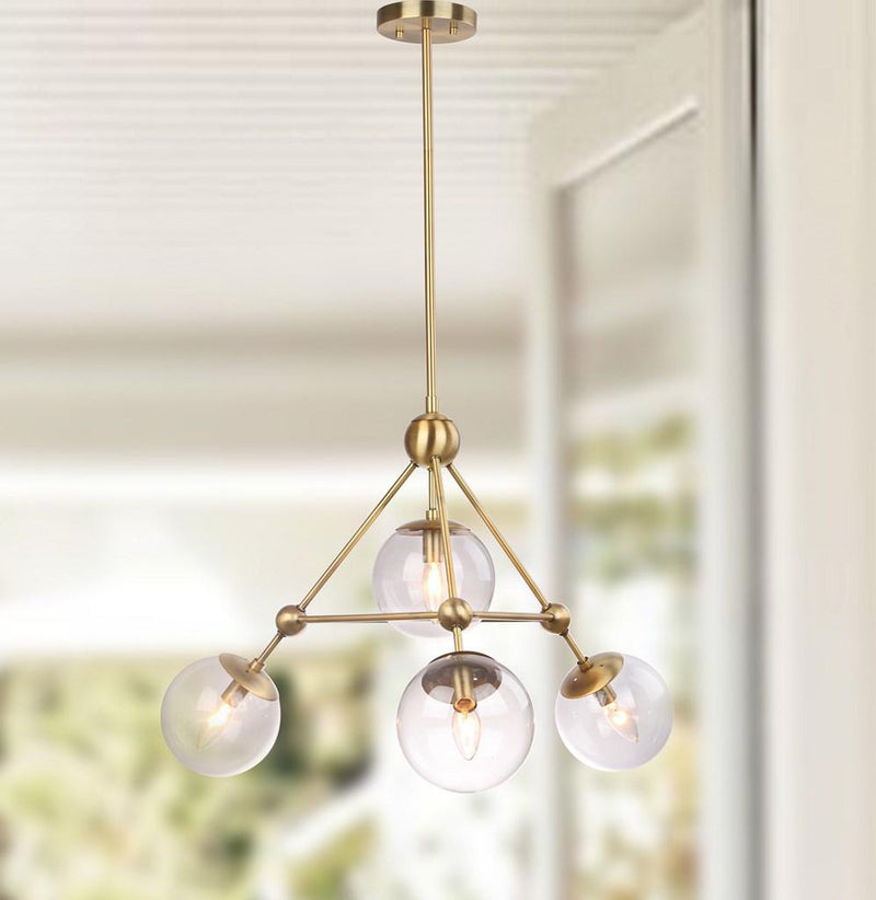 Dustin 4-Light Pendant