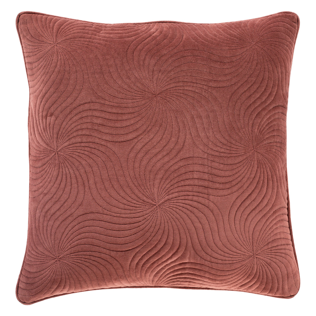 Mindy Spire Quilted Velvet Throw Pillow