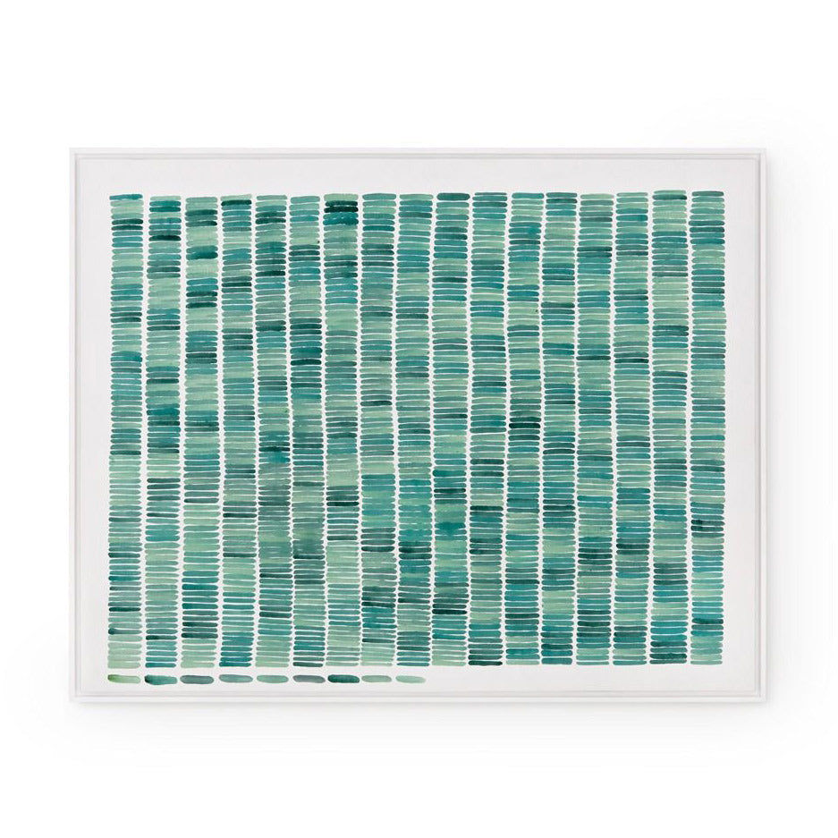 Bungalow 5 Rain Silk Framed Wall Panel