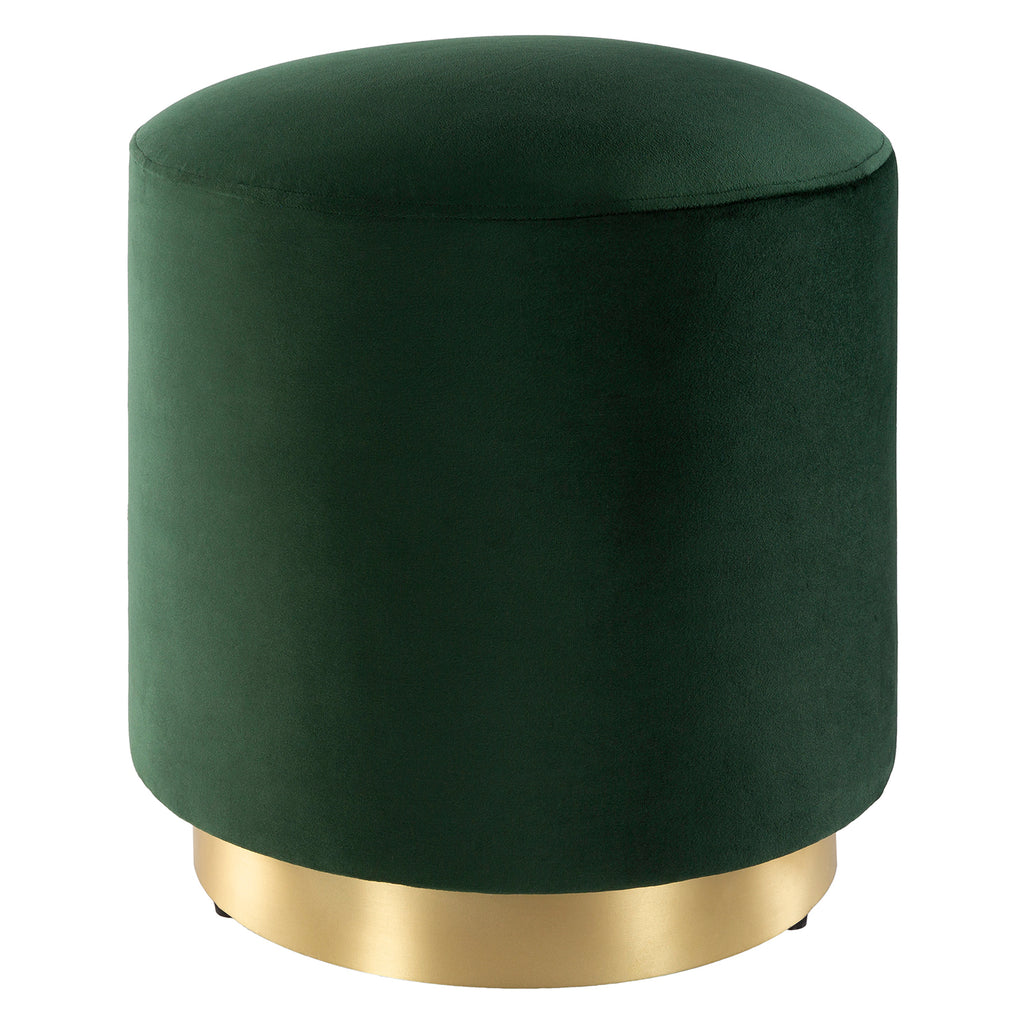 Curtis Velvet Upholstered Stool