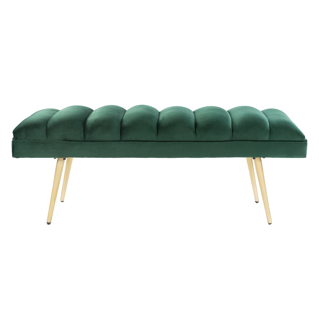 Curtis Velvet Upholstered Bench
