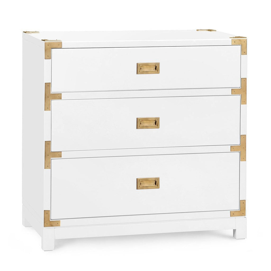 Bungalow 5 Victoria 3 Drawer Side Table