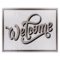 Surya Vinilo Welcome Vinyl Floorcloth
