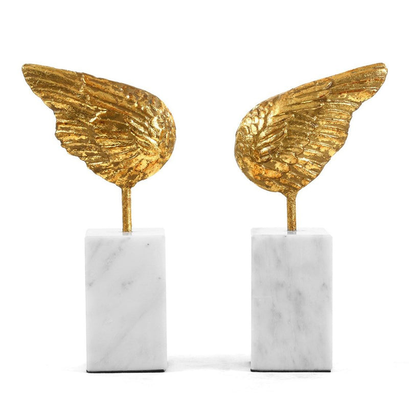 Bungalow 5 Wings Statue Set of 2