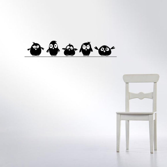 Birds on the Wire Wall Sticker - Coolioos