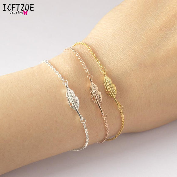 Feather Bracelet For Women - Coolioos