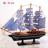 Handmade Wooden Ship Model - Coolioos