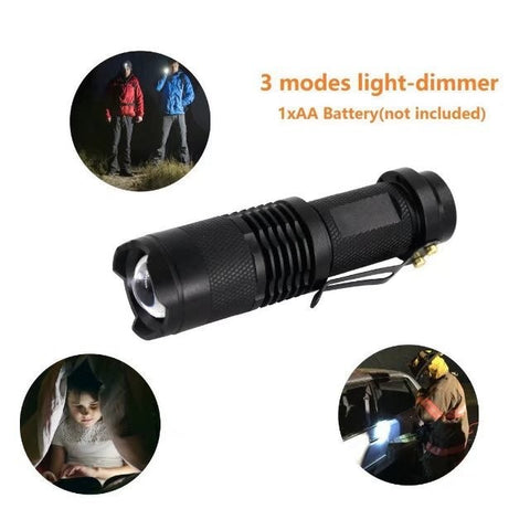 Survival Zoomable Torch / Flash Light