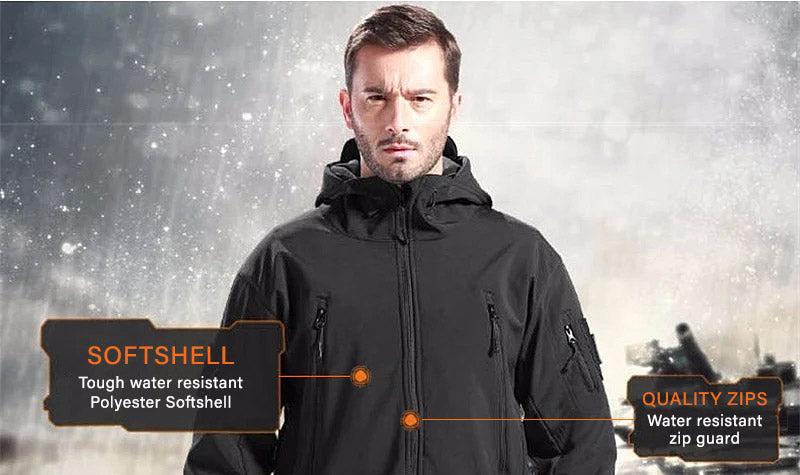 Titan Depot Softshell Waterproof Jacket