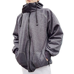 JUNIOR GREY ANTI-SLASH HOODED TOP WITH ANTI-SLASH KEVLAR® PROTECTION