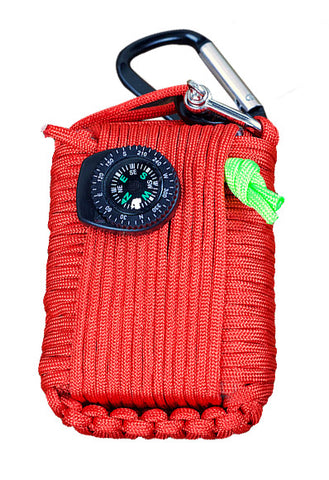 Titan Depot 30 in 1 Survival Grenade - LARGE  red