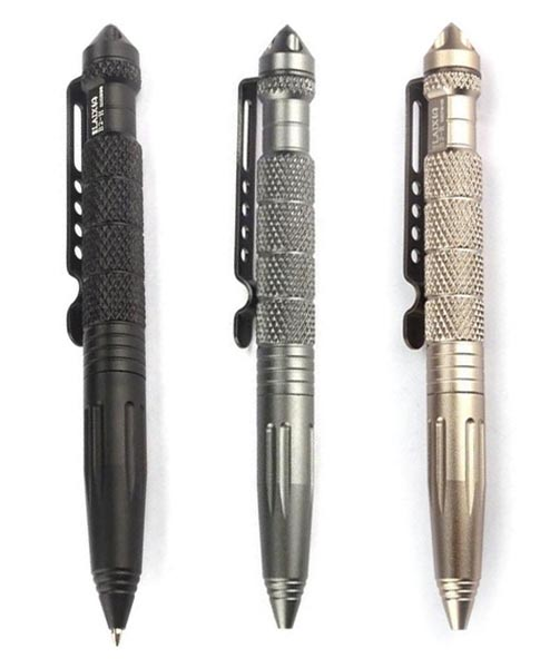 Titan Depot Aluminium Tactical Emergency Pen colours