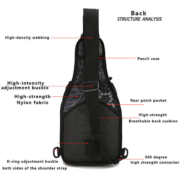 600D Military Tactical Shoulder Bag