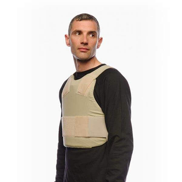 ANTI-STAB COVERT VEST flaps tucked in
