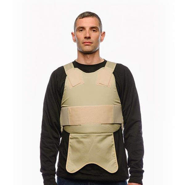 ANTI-STAB COVERT VEST front view