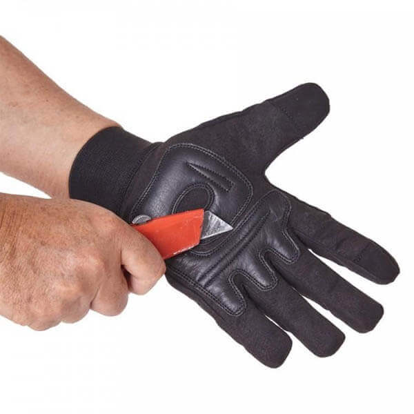 POLICE CUT RESISTANCE GLOVE LEVEL 5 PROTECTION PALM