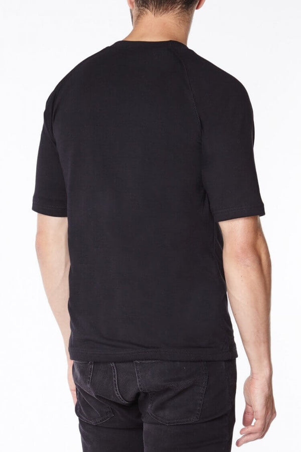 Titan Depot Short Sleeved T-shirts Lined with Anti-Slash KEVLAR® back view