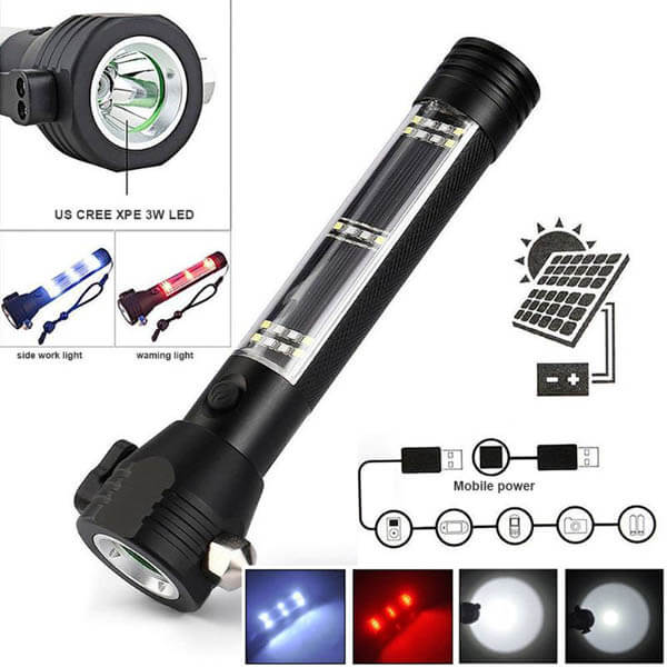 9 in 1 Life Saver LED Torch