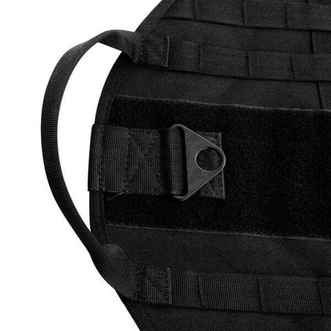 Titan Depot Tactical Dog Training Molle Vest Harness black straps img
