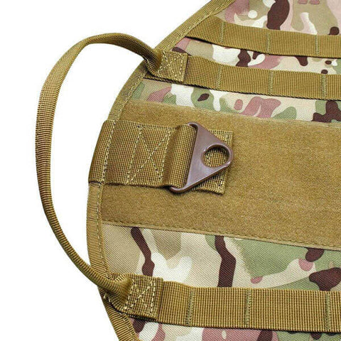 Titan Depot Tactical Dog Training Molle Vest Harness camo strap img