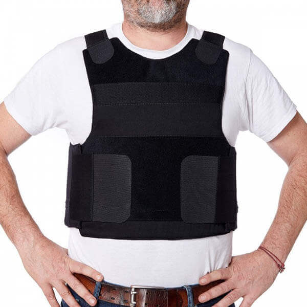 Titan Depot COVERT VESTS LIGHTWEIGHT BULLET/STAB-PROOF VEST THREAT LEVEL II front view