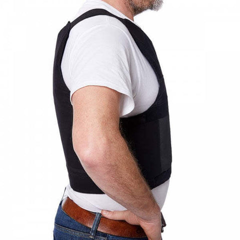 Titan Depot COVERT VESTS LIGHTWEIGHT BULLET/STAB-PROOF VEST THREAT LEVEL II side view