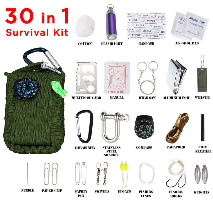 30 in 1 Survival Grenade - LARGE