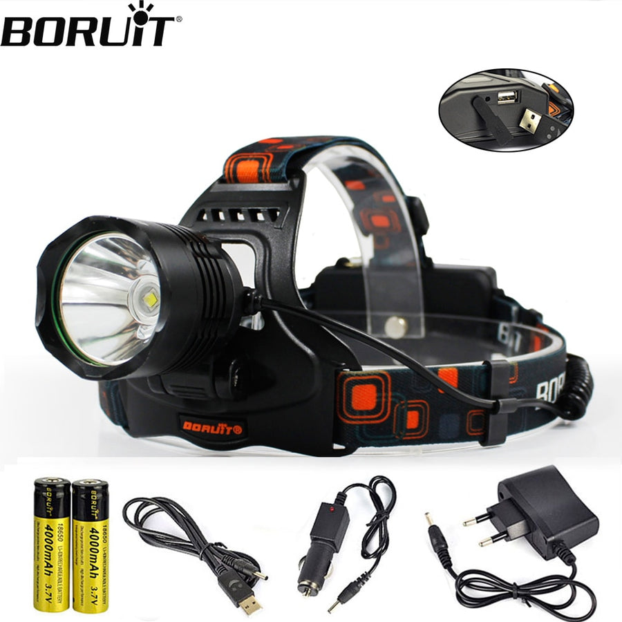 XM-L2 LED 5-Mode HeadLamp 1200LM
