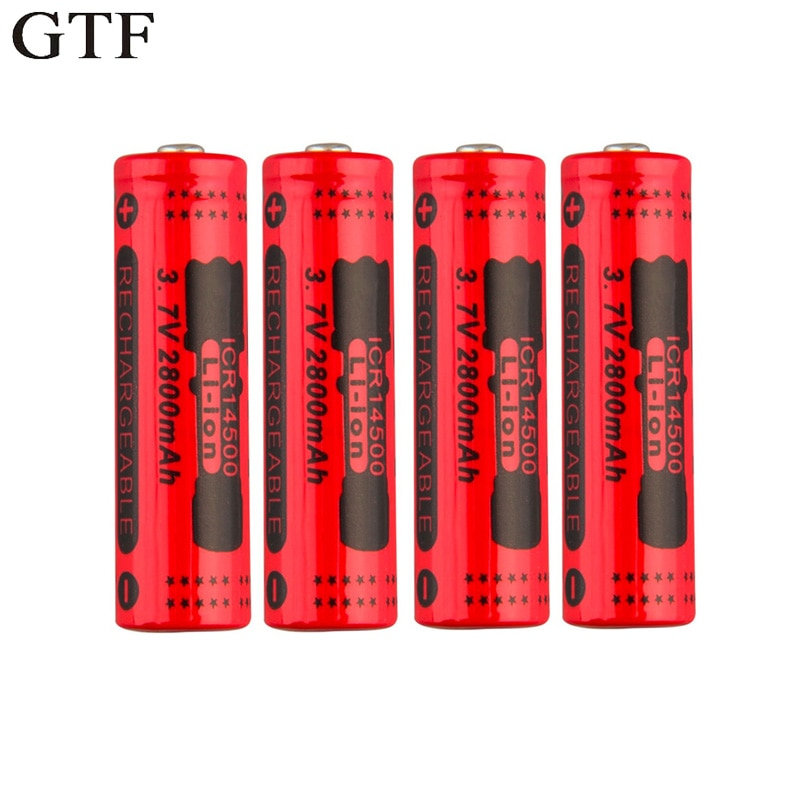 Rechargeable Long Life Battery 14500 3.7V
