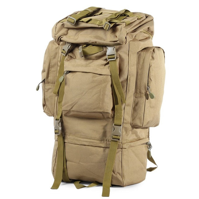60L Heavy Duty Military Tactical Backpack