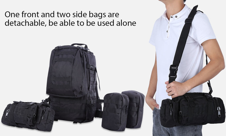 50L Waterproof Molle Backpack