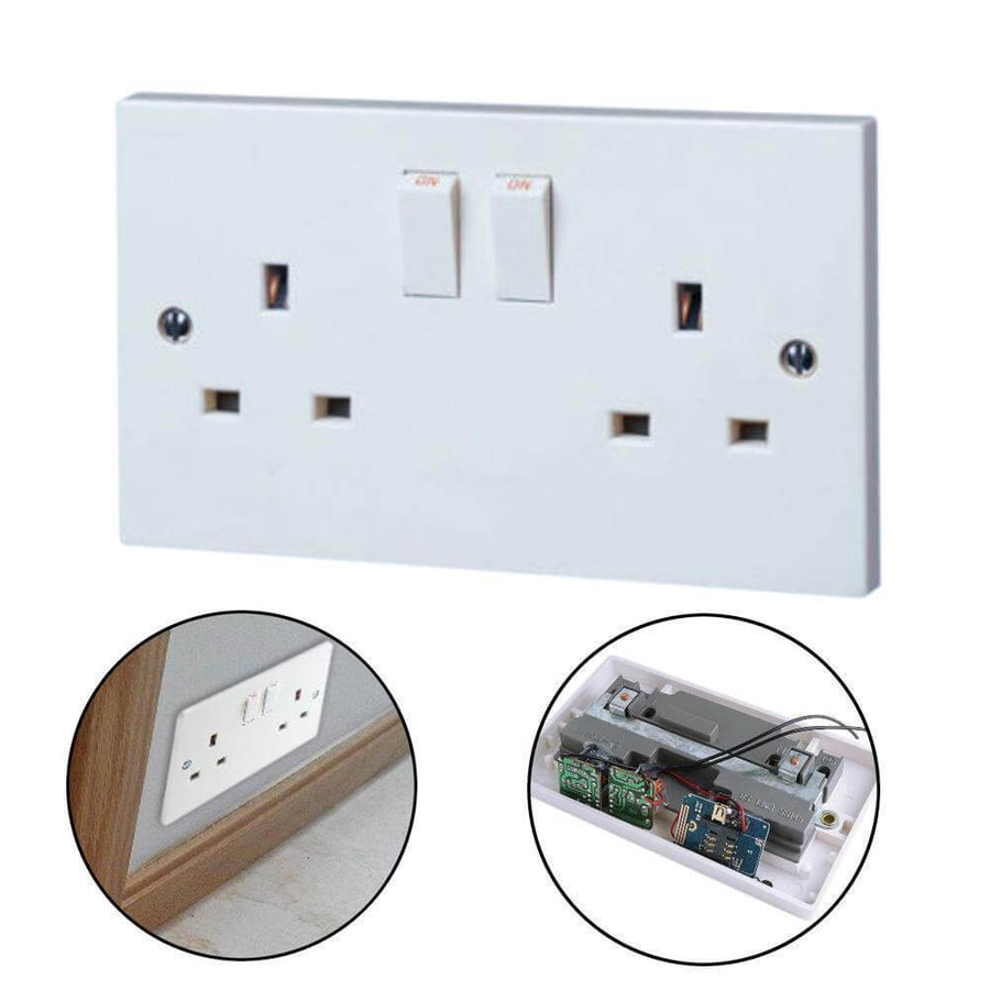 Spy Bug Surveillance Listening Main Plug Socket UK