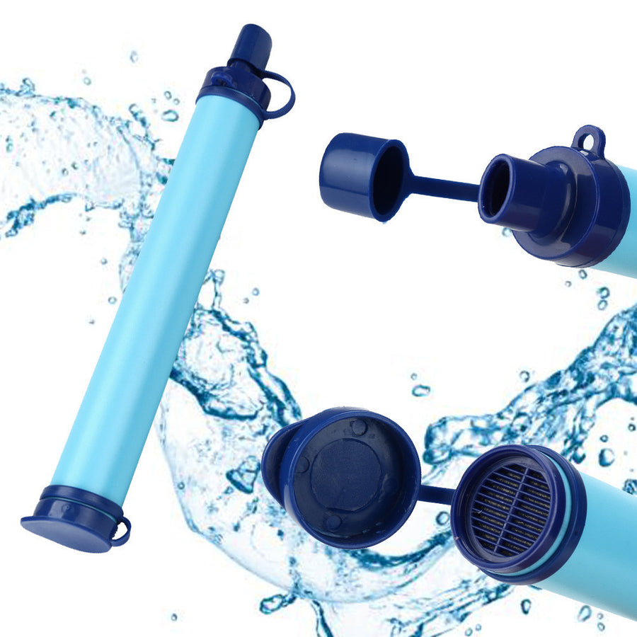Emergency Survival Water Purifier Straw Filter