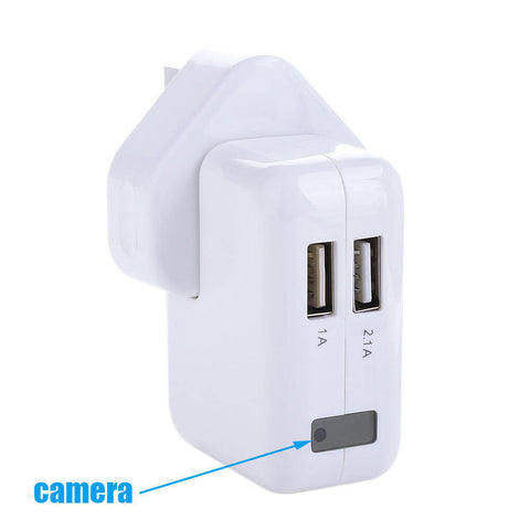 Spy Camera USB Charger Video Plug 1920x1080p details 1