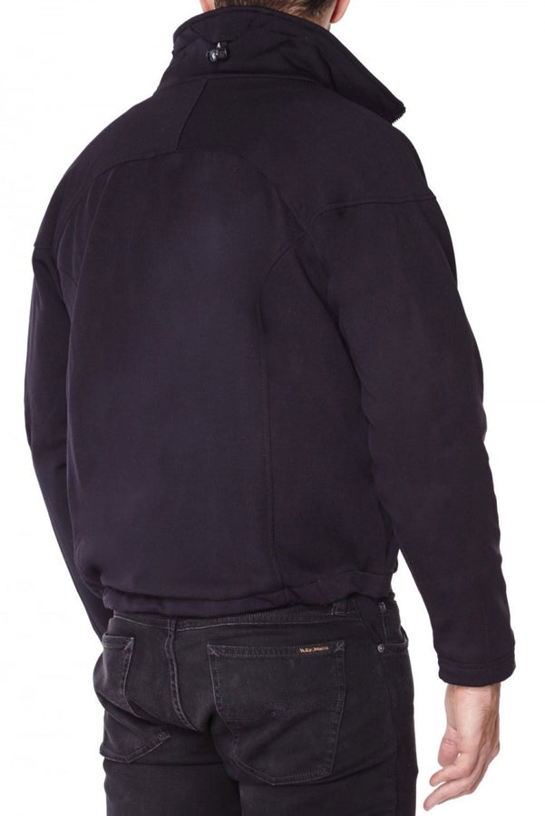 titan depot THE WINDJAMMER JACKET LINED WITH WOVEN ARAMID FIBRE back view
