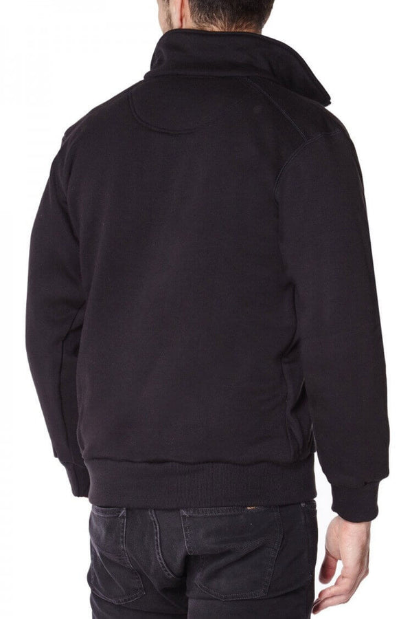 Spectra Zip Up Kevlar Lined Sweater back view