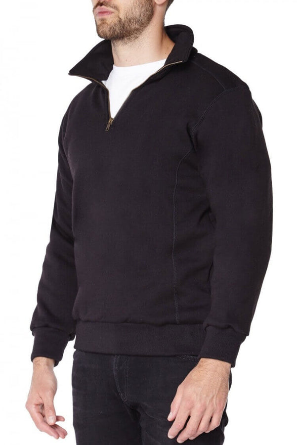 Spectra Zip Up Kevlar Lined Sweater front view