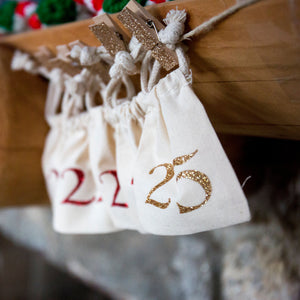 Advent Calendar - Christmas Countdown Garland