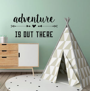 Adventure is Out There - Kids Wall Decals