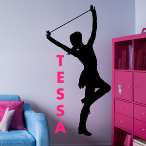 Jazz Dancer Silhouette - Gift for Tap Dancer
