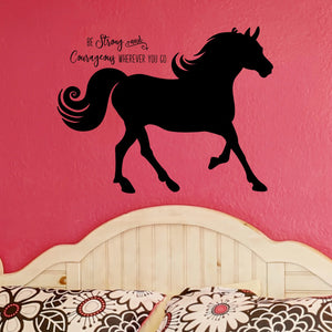 Horse Bedroom Decor - Inspiring Quotes for Girls